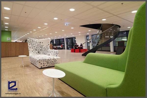 Ý tưởng thiết kế văn phòng công ty Unive VGZ – Hà Lan