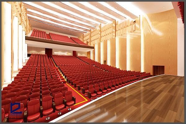 Thiết kế hội trường lớn UBND Q. Thanh Xuân HT-DG06 góc 2
