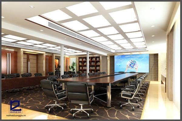 Ghế chân xoay phòng họp ngày càng được sử dụng phổ biến hơn các thiết kế nội thất phòng họp.