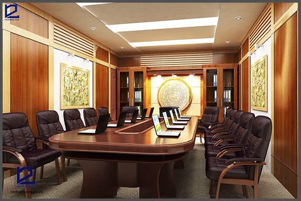 Thiết kế nội thất phòng họp hợp phong thủy