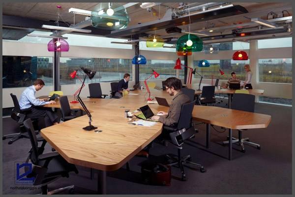 Mẫu thiết kế nội thất văn phòng đẹp số 3