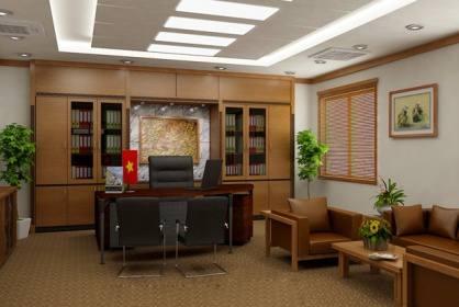 Mẫu thiết kế phòng giám đốc theo phong cách hiện đại