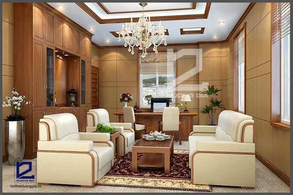 Các mẫu thiết kế nội thất phòng giám đốc đẹp, hiện đại