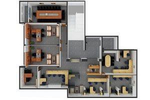 Mẫu thiết kế nội thất văn phòng VP-DG17