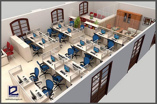 Bật mí xu hướng thiết kế nội thất văn phòng hiện đại ấn tượng nhất 2017