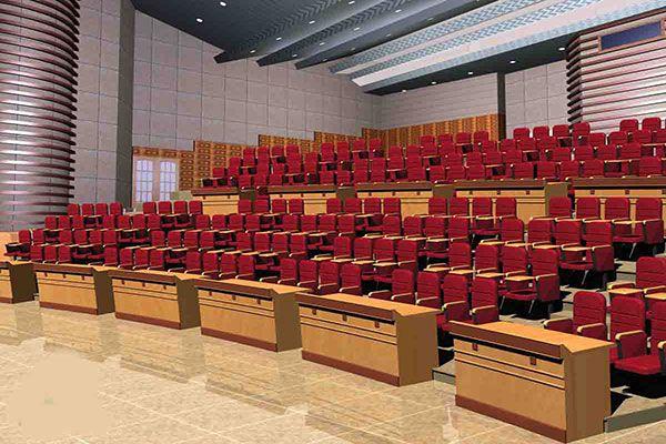 Ghế hội trường có bàn viết phải cung cấp chỗ ngồi thoải mái