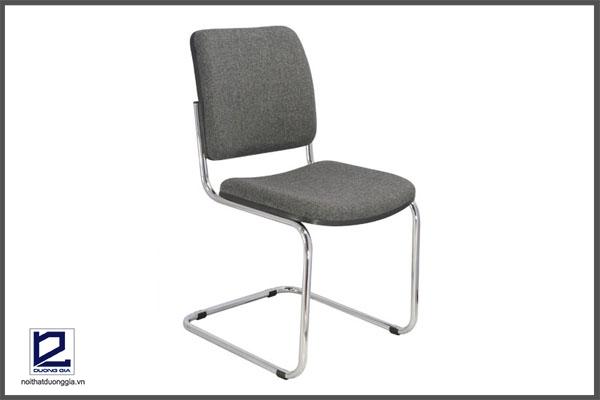 Ghế phòng họp chân quỳ GQ01-M khung mạ hiện đại
