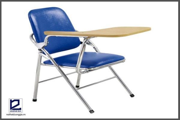 Mẫu ghế làm việc bằng Inox kết hợp với bàn nhỏ