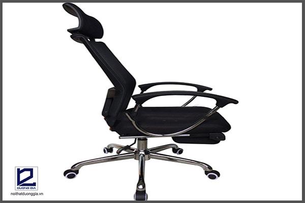 Ghế có khả năng ngả và hãm ở nhiều góc độ khác nhau