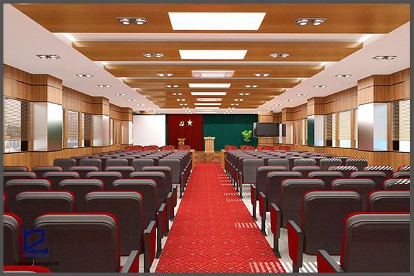 Thiết kế hội trường BQL Nhiệt điện Nghi SơnHT-DG08 góc 1