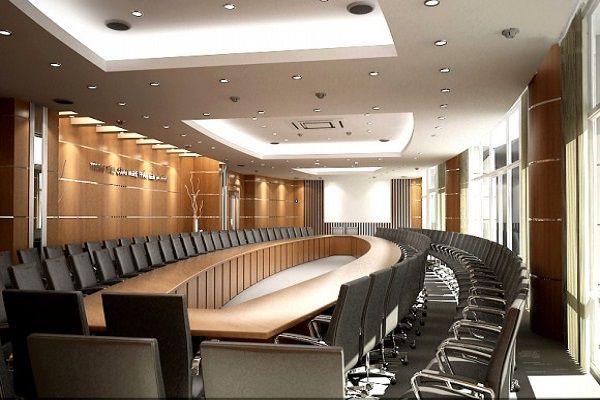 Lựa chọn bàn ghế cho phòng họp