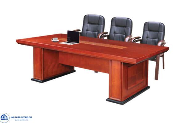 Bàn phòng họp bằng gỗ CT2412V1