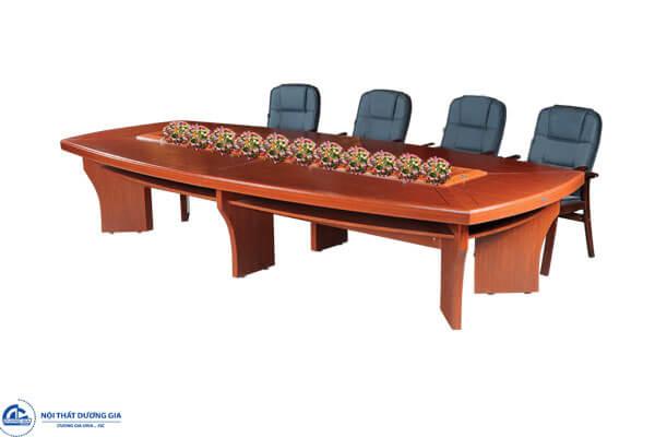Mẫu bàn phòng họp bằng gỗ CT4016H2