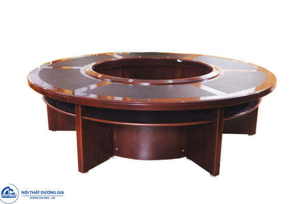 Tổng hợp các mẫu bàn ghế phòng họp bằng gỗ đẹp nhất 2018