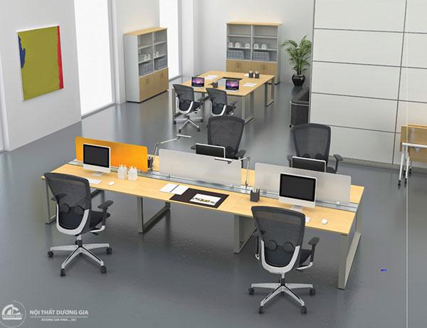 Module bàn làm việc văn phòng nhập khẩu