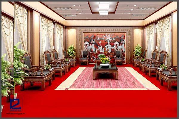 Thiết kế nội thất phòng khánh tiết KT-DG12 sang trọng