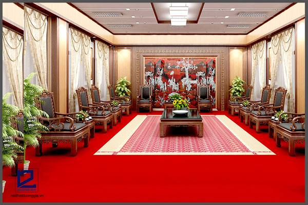 Thiết kế nội thất phòng khánh tiết KT-DG12 (góc chụp 1)