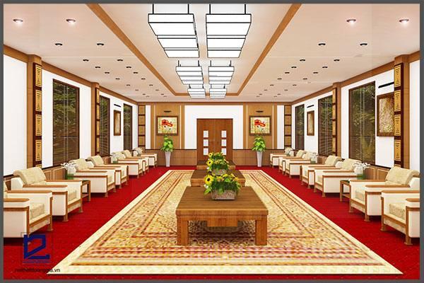 Thiết kế nội thất phòng khánh tiết KT-DG13 (góc chụp 2)