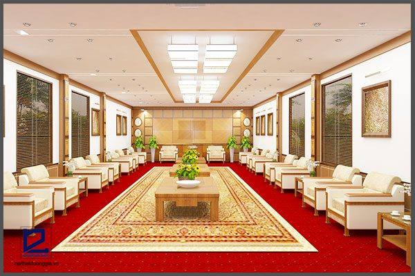 Thiết kế nội thất phòng khánh tiết KT-DG13 hiện đại
