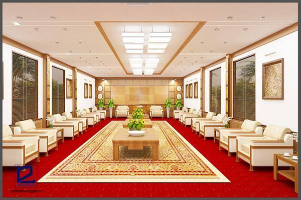 Thiết kế nội thất phòng khánh tiết KT-DG13 (góc chụp 1)