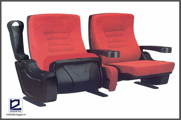 Mẫu ghế hội trường đôi đẹp TC05B mang kiểu dáng hiện đại, màu sắc sang trọng, kết cấu vững chắc.