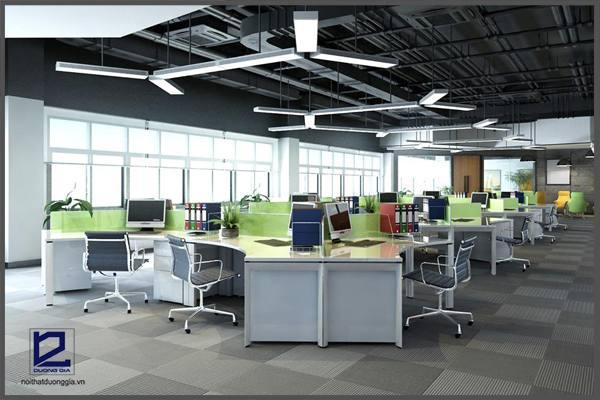 Một số lưu ý lưu ý quan trọng khi thiết kế văn phòng không gian mở