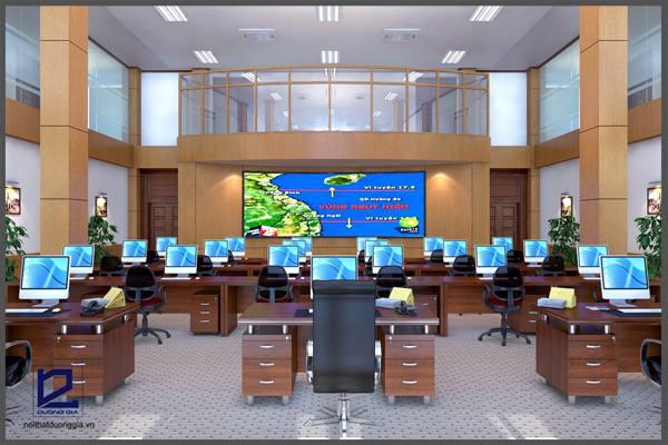 Mẫu thiết kế nội thất văn phòng đẹp số 04