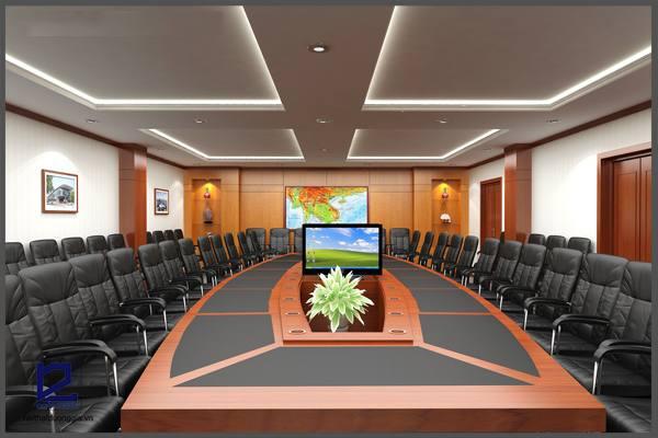 Mẫu thiết kế phòng họpPH-DG13 (góc chụp 2)