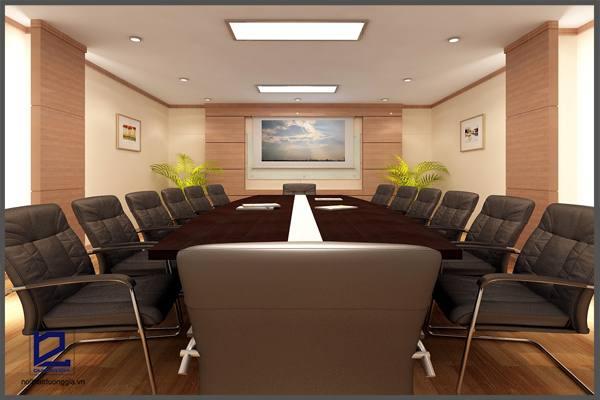 Mẫu thiết kế phòng họp PH-DG01 (góc chụp 1)