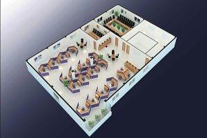 Thiết kế vănphòng công ty HBI VP-DG20