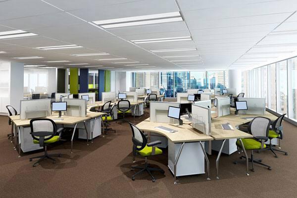 Thiết kế nội thất văn phòng hiện đại đem đến không gian làm việc lý tưởng.