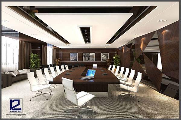 Thiết kế phòng họp cần phải chú ý đến mục đích sử dụng.