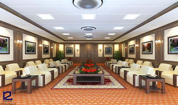 Thiết kế nội thất phòng khánh tiết KTDG-01