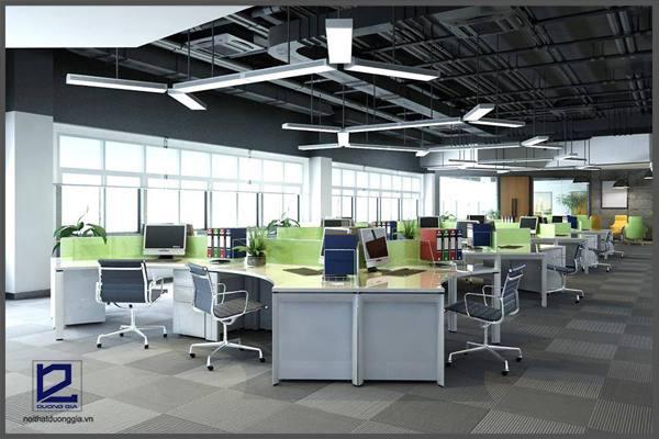 Tiêu chuẩn thiết kế nội thất văn phòng mang tính thẩm mỹ cao