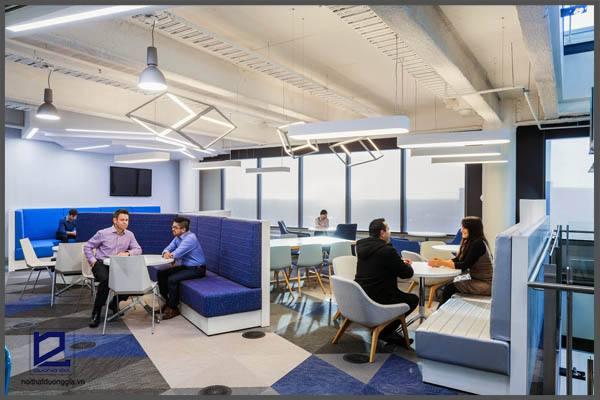 Phong cách thiết kế nội thất văn phòng theo xu hướng nghệ thuật