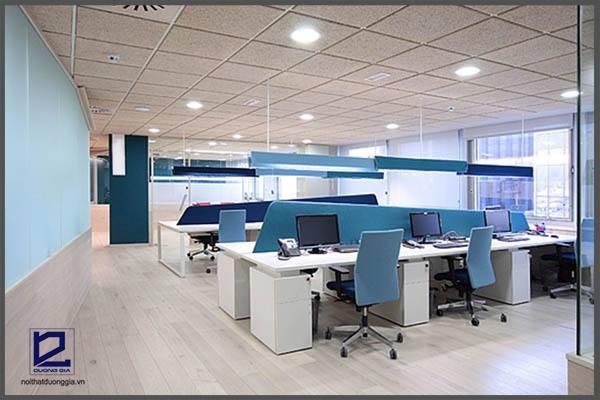 Phong cách thiết kế nội thất văn phòng truyền thống, đơn giản