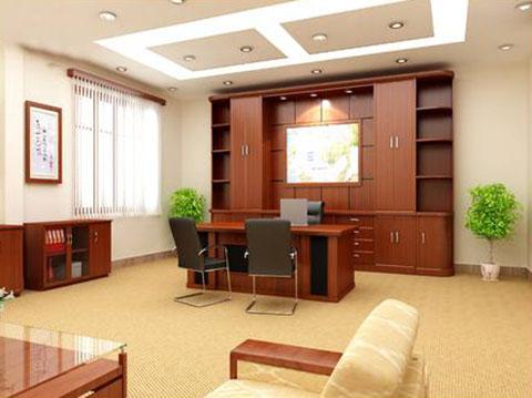 Thiết kế phòng Giám đốc công ty khoáng sản TMG GD-DG13