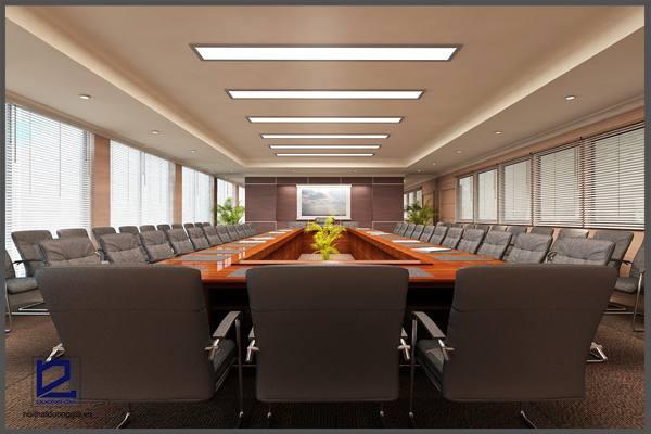 Mẫu thiết kế nội thất phòng họpPH-DG15 (góc chụp 1)