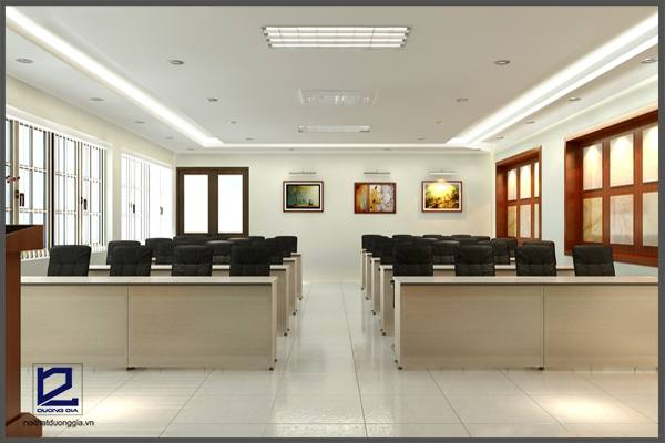 Mẫu thiết kế nội thất phòng họp PH-DG16 góc 4