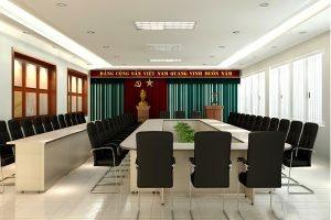 Mẫu thiết kế nội thất phòng họp PH-DG16