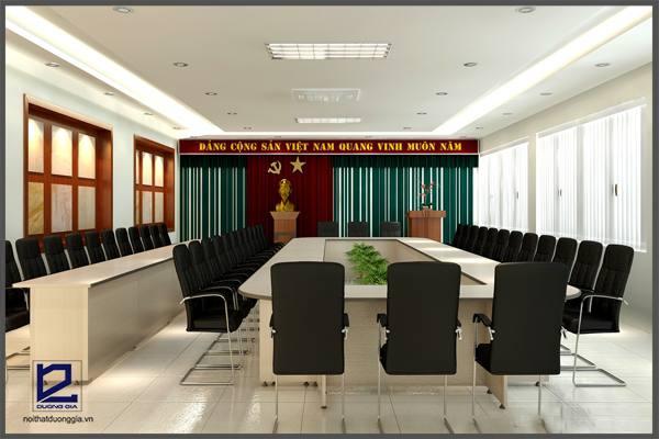 Mẫu thiết kế nội thất phòng họp PH-DG16 góc 1