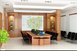 Mẫu thiết kế nội thất phòng họp PH-DG20