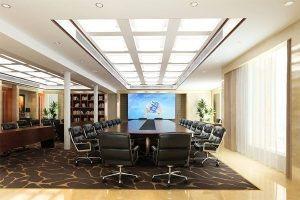 Mẫu thiết kế nội thất phòng họpPH-DG21