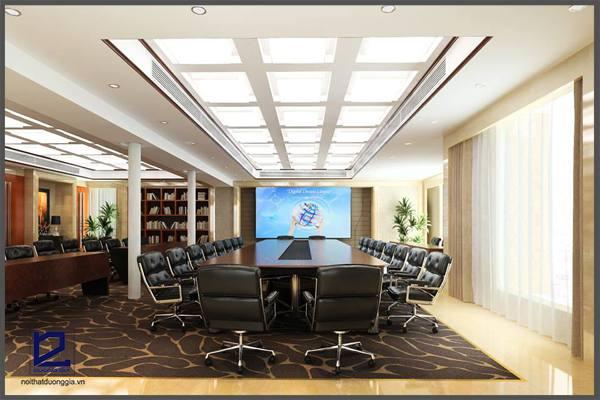 Mẫu thiết kế nội thất phòng họpPH-DG21 góc  3