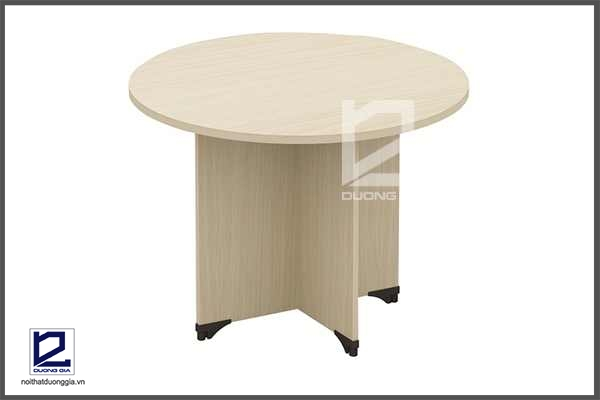 Bàn họp kiểu dáng hình tròn rất thích hợp với phòng họp nhỏ.