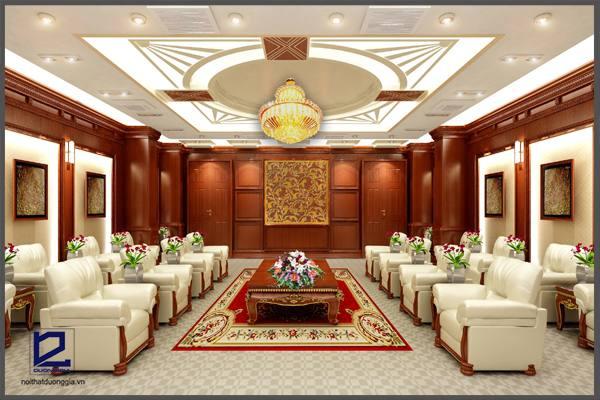 Thiết kế nội thất phòng khánh tiết KT-DG02 góc 2