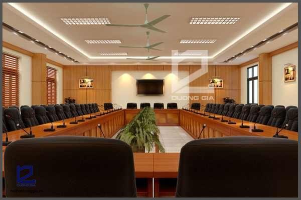 Dự án thiết kế nội thất phòng họp