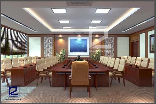 Dự án thiết kế nội thất phòng họp đẳng cấp, sang trọng