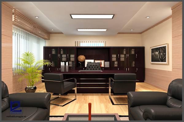 Tủ sách phòng Giám đốc là nơi lưu trữ tài liệu, trưng bày đồ vật lý tưởng của Giám đốc