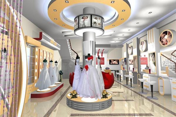 Thiết kế showroom đồng nhất về phong cách